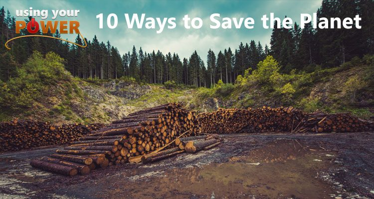 061 – 10 Ways to Save the Planet